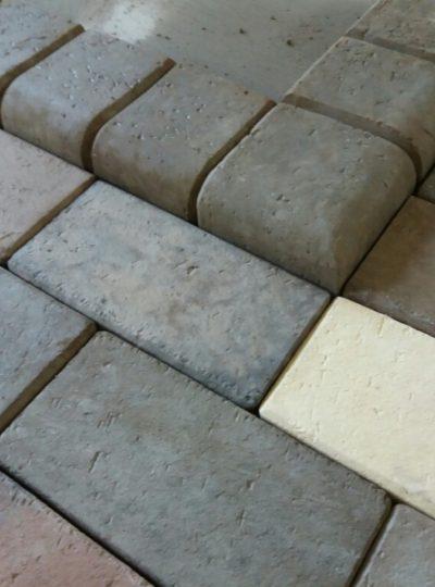 Камень бордюрный декоративный
