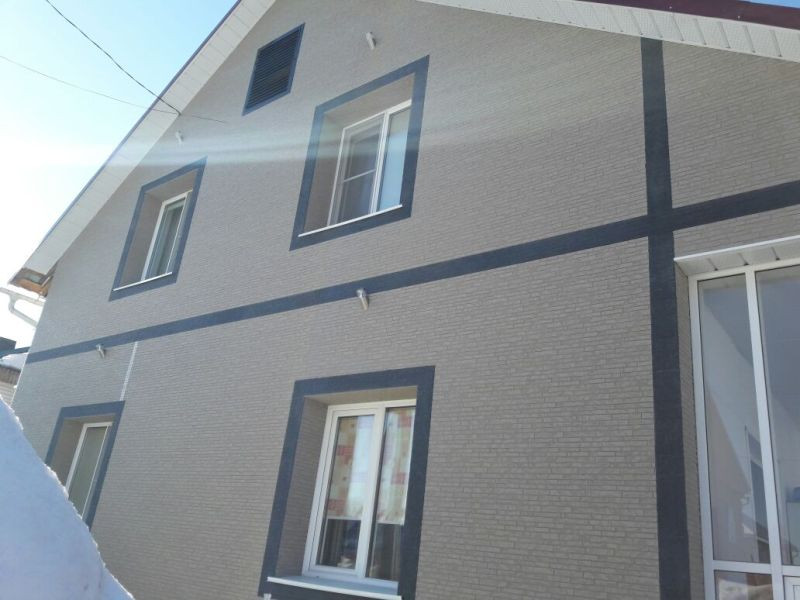 Монтаж всех видов вентилируемых фасадов , монтаж японских панелей